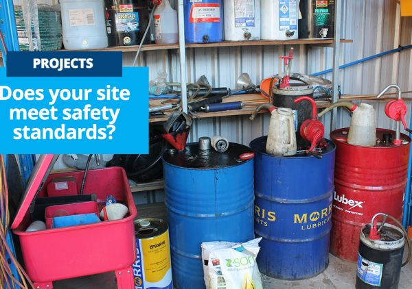 Bunding Install - does your site meet safety standards
