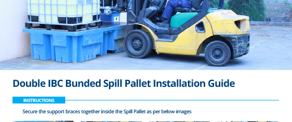 Double IBC Bunded Spill Pallet Assembly Guide