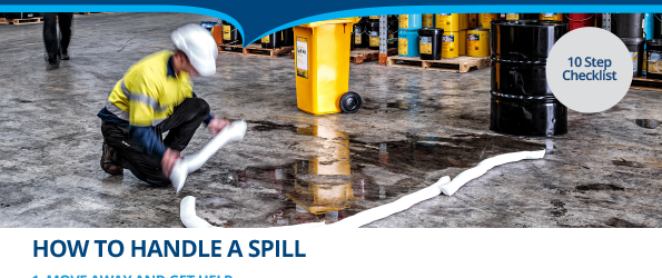 How to handle a spill