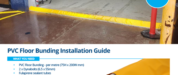 PVC Floor Bunding Installation Instructions - Stratex