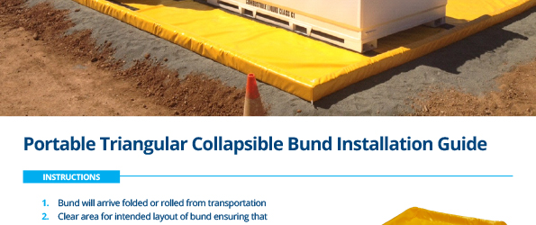 Portable Collapsible Bund Installation Guide