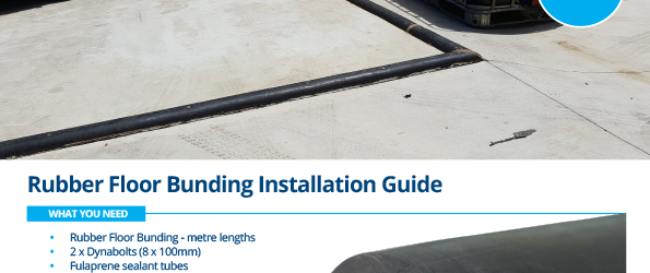 Rubber Floor Bunding Installation Instructions - Stratex