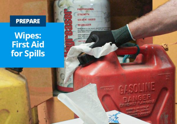 Stratex DefendaWipes are First Aid for Spills